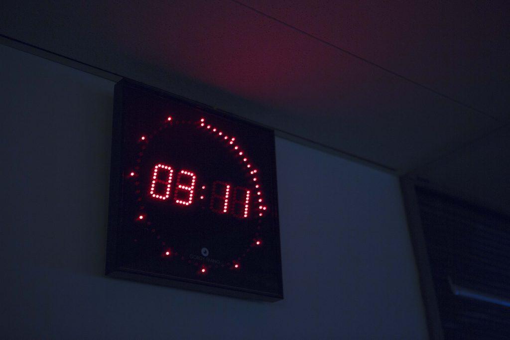horloge numerique